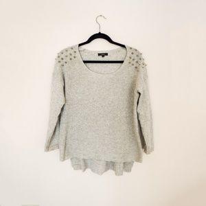 Millau Studded Grey Sweater